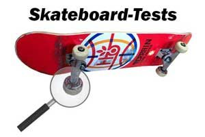 Skateboard-Test: Board-Test