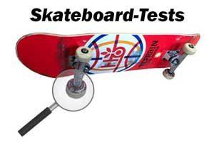 Skateboard-Test: Board-Test